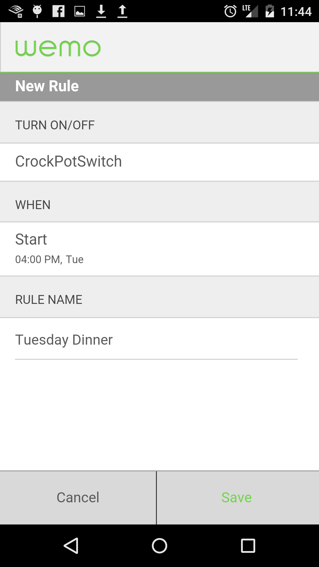 Picture of Setting Up a Schedule for Your Crockpot