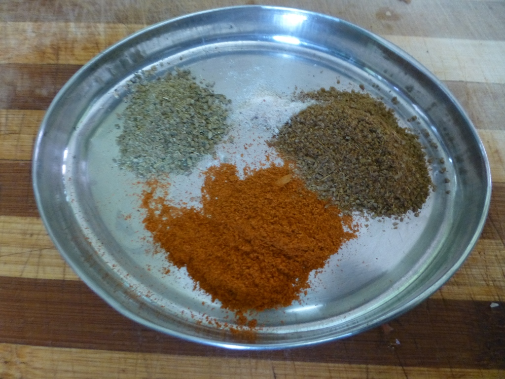 Picture of Grated Coconut and Spices