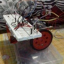 Arduino Light Controlled Bot
