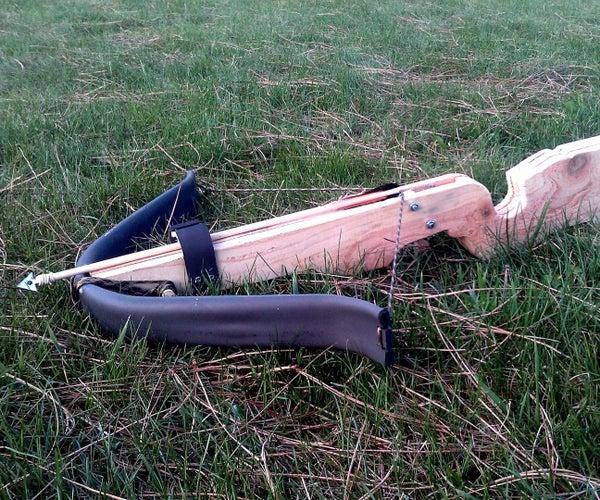 PVC Survival Crossbow
