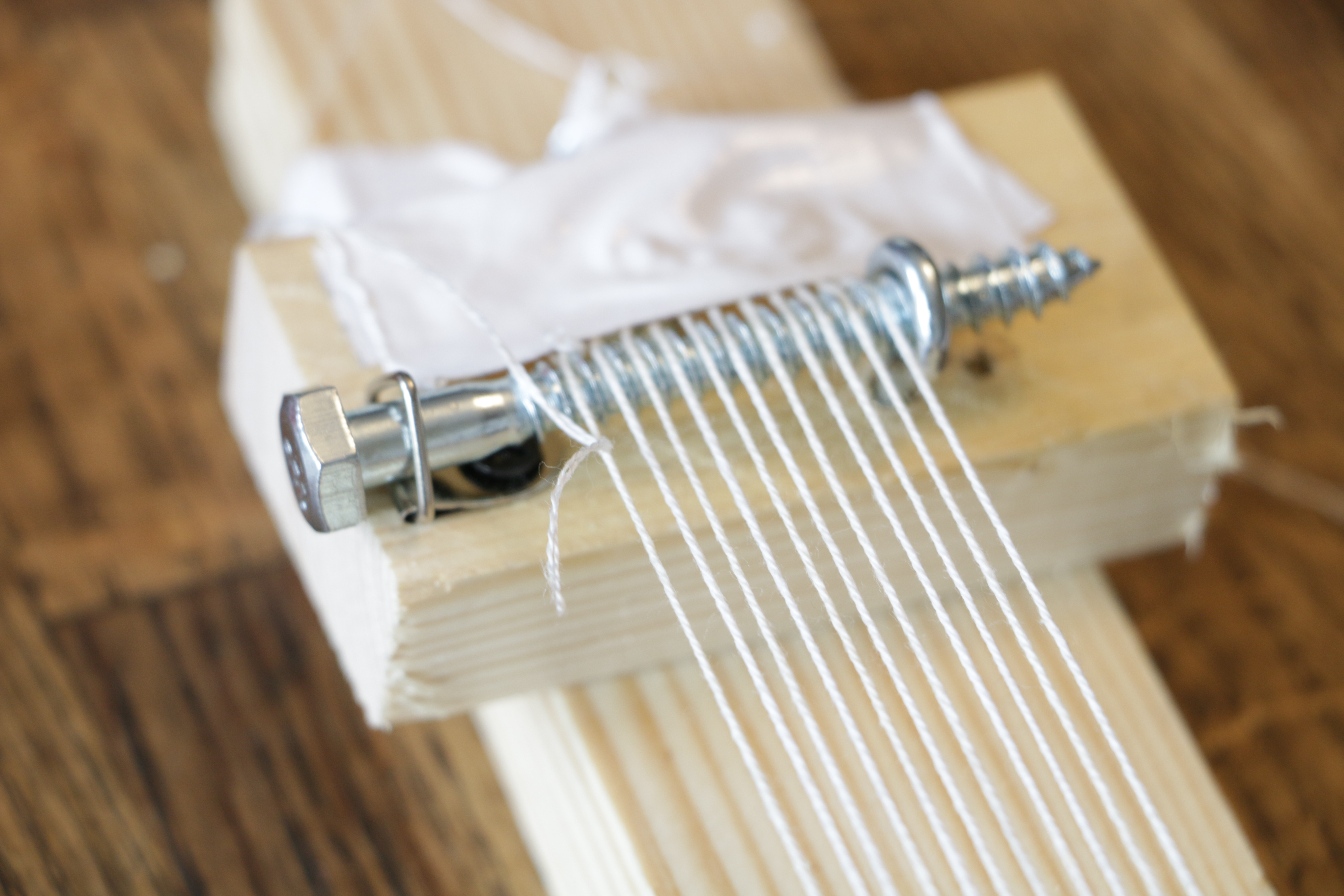 Picture of Setting Up the Loom & Threads