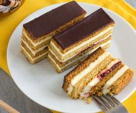 Petit Fours - Honey Cake Slices