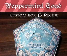 Honeyduke's Peppermint Toad Custom Box & Recipe
