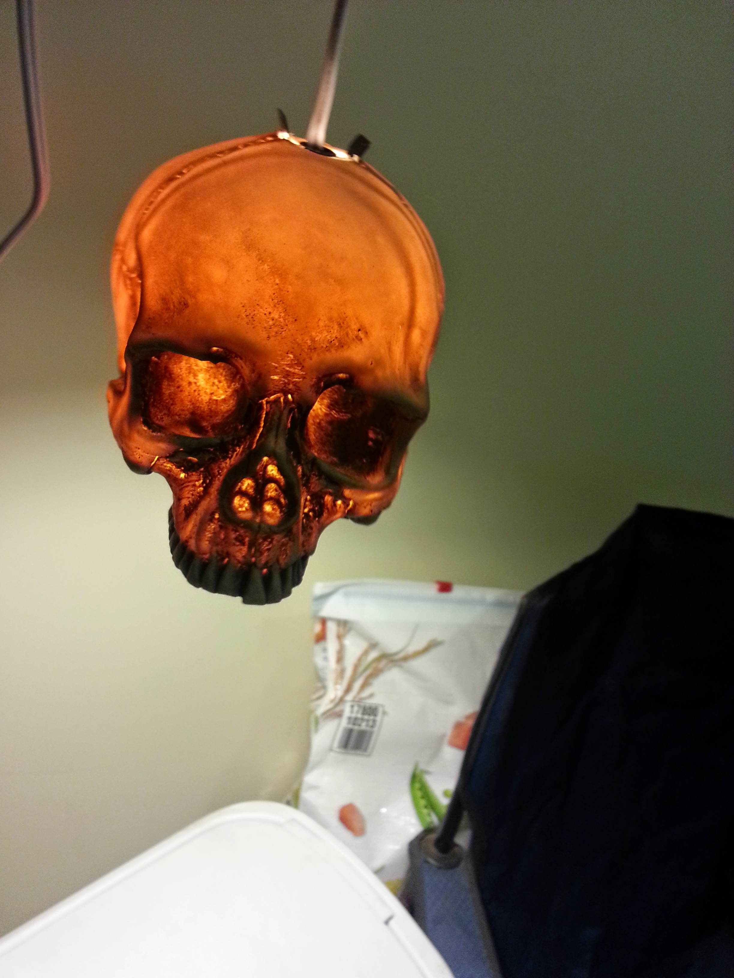 Picture of Halloween Skull Hanging Lamp