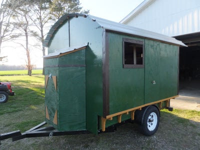Tiny House, Gypsy Wagon - You Can Build One Too!