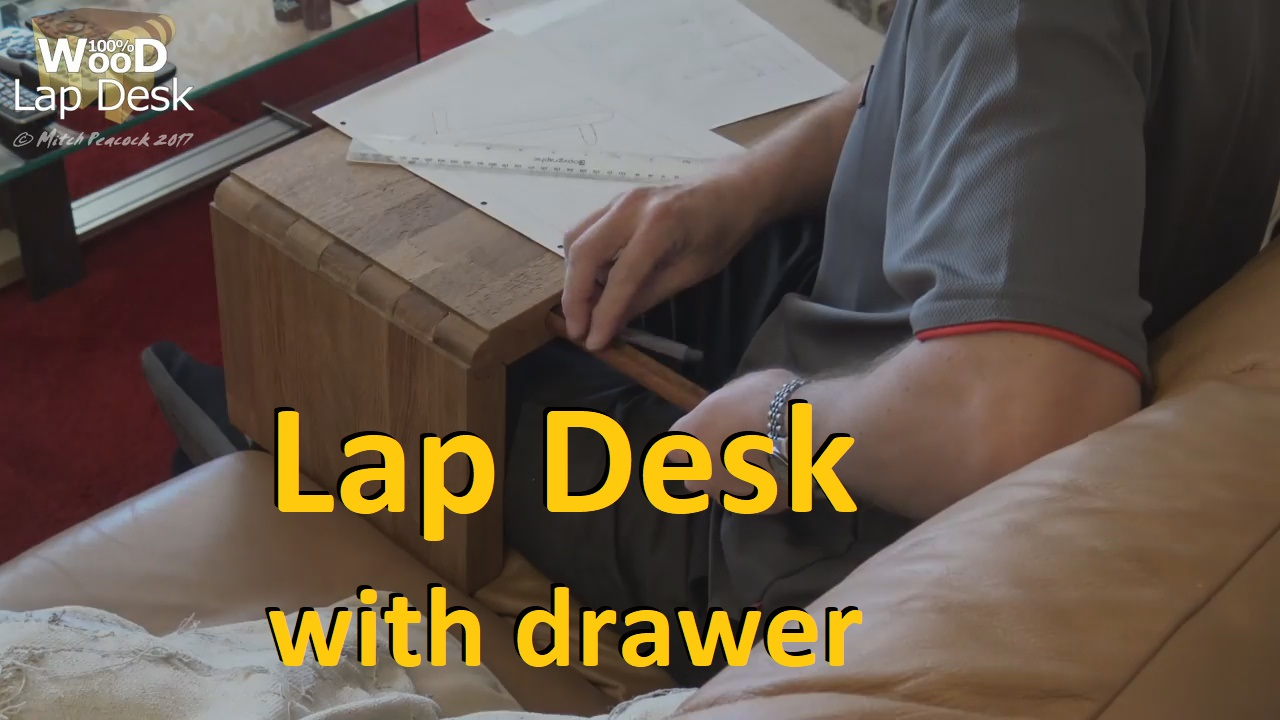 Picture of 3-Way Lap Desk With a Pen/pencil Drawer