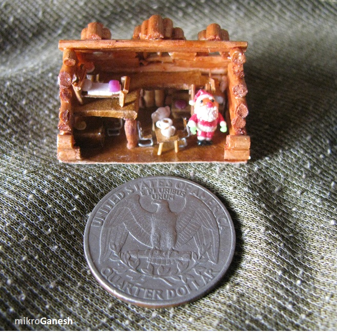 Picture of Micro Log Cabin