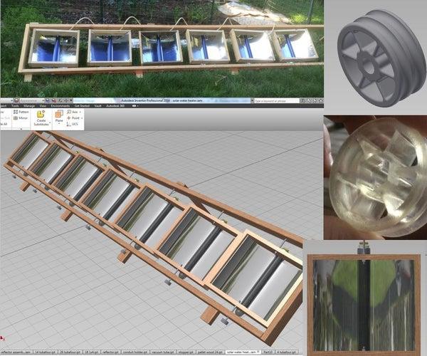 Solar Water Heater Still