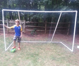 PVC Soccer Goal 10' x 6' x 4.5'