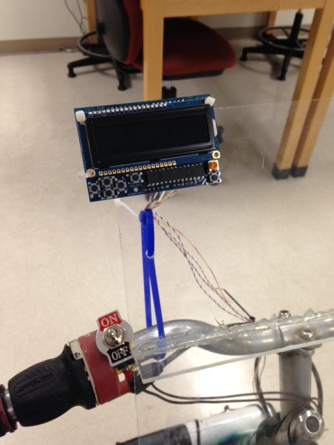 Picture of I2C LCD User-Interface and Menu