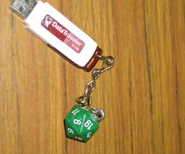 DIY Custom Keychains! (Dice)