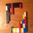 Lego Dueling Pistols