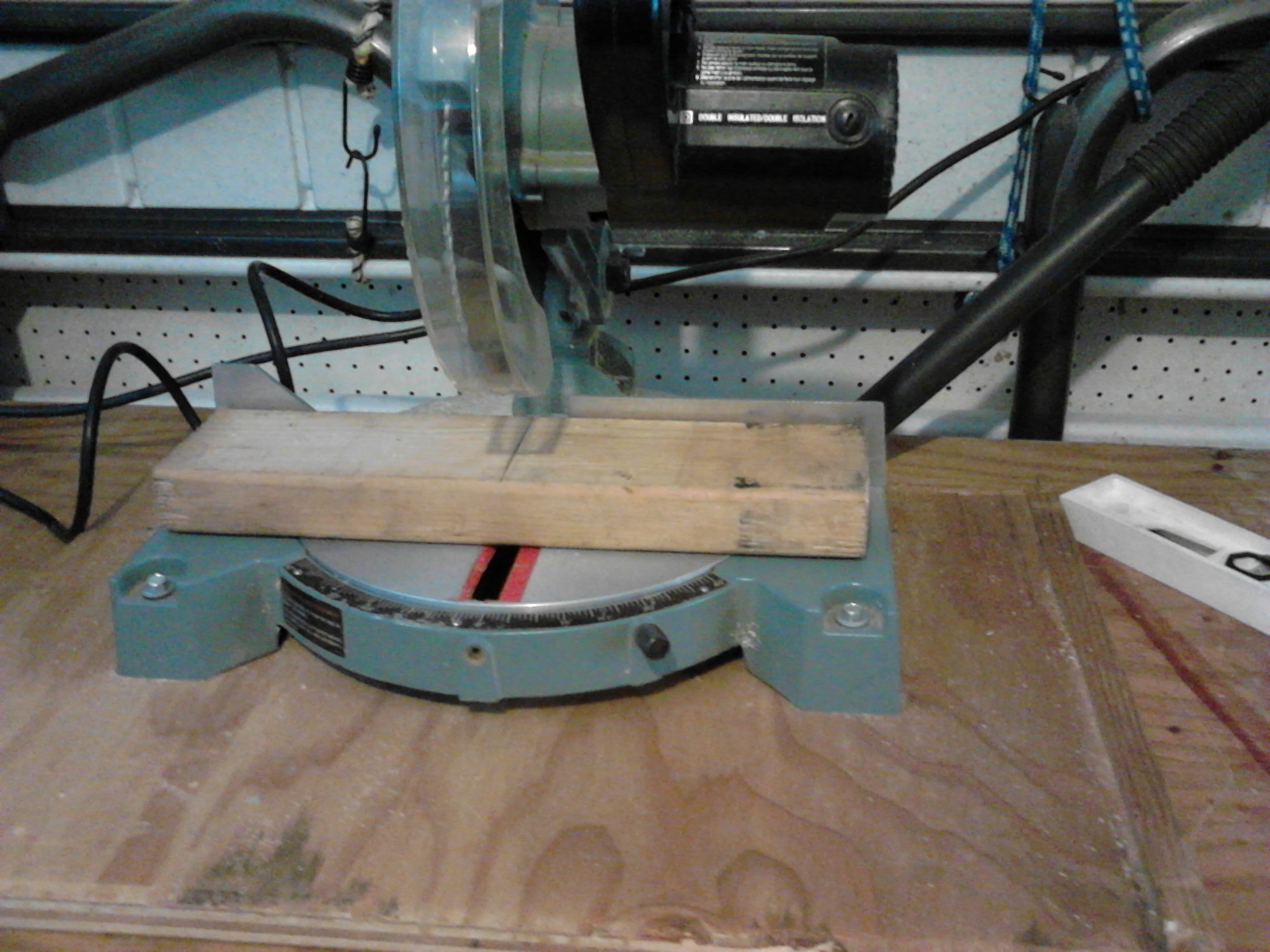 """Picture of Transfer the Curved Railing Profile From Cardboard Template to Two 2x4 """"wing"""" Pieces."""