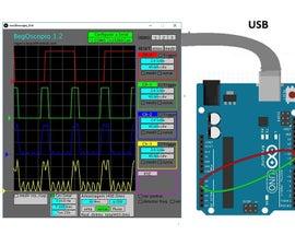 Oscilloscope Arduino-Processing