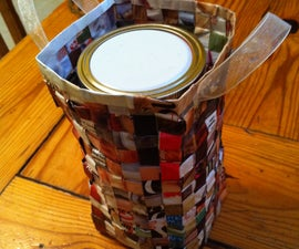 Recycled Magazine Gift Bag