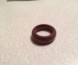 Wood Turned Ring