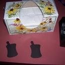 Tissue box magnet