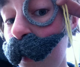 Crocheted Monocle