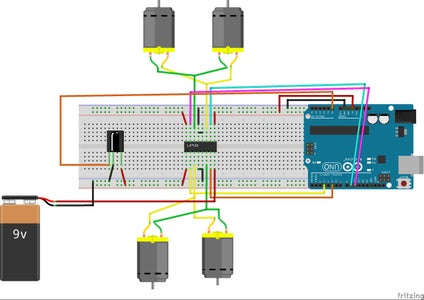 Circuit Schematic & Component Assembly
