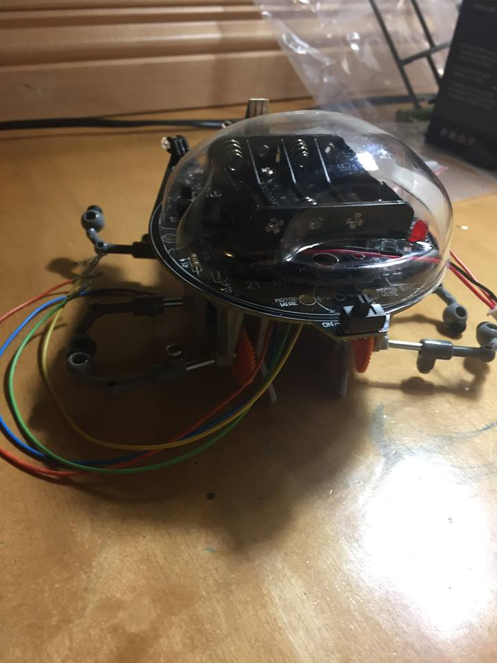 Picture of Self-learning Maze Crab Robot PROTOTYPE 1 STATUS INCOMPLETE