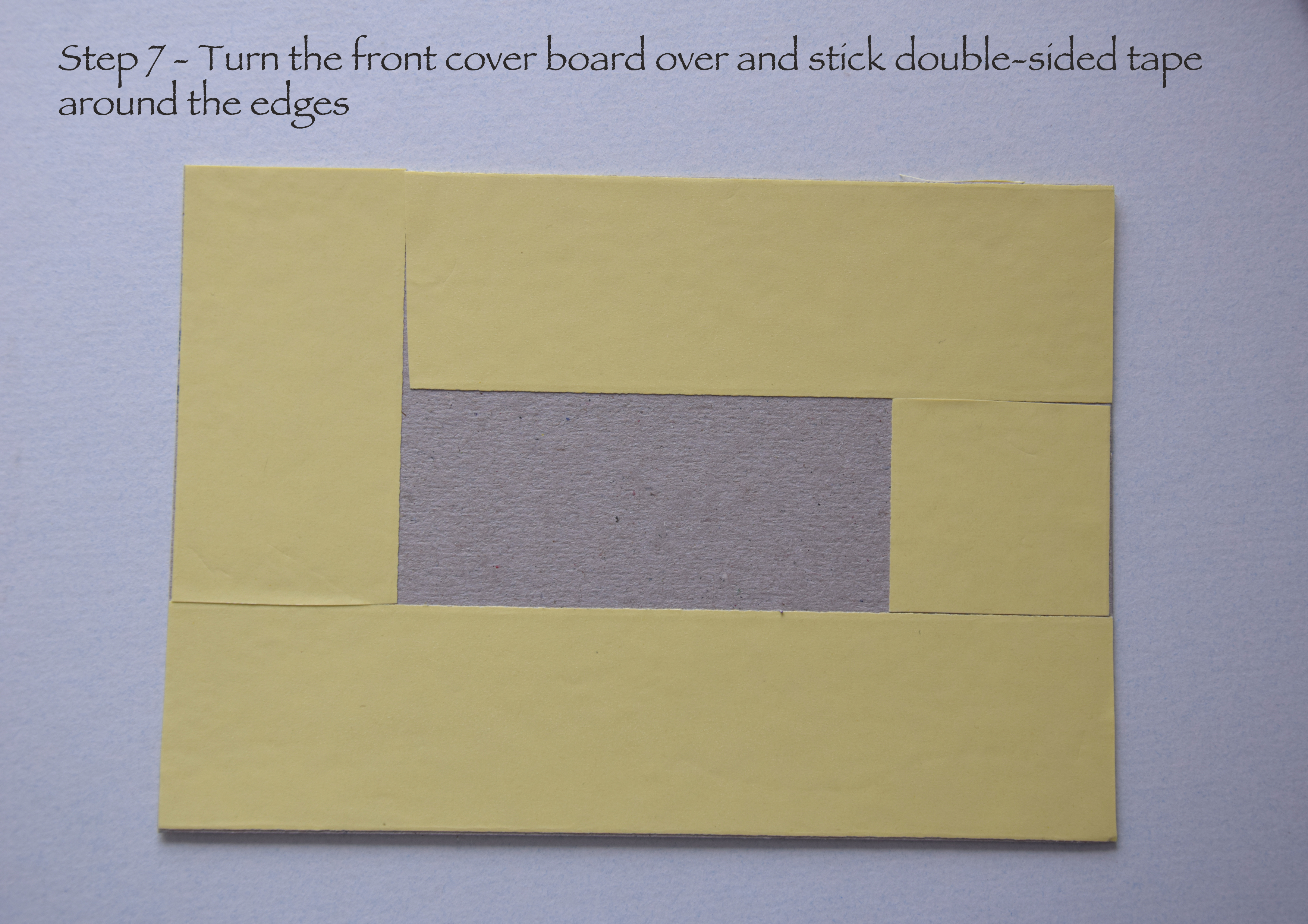Picture of Cover the Inside Edges With Double-sided Tape