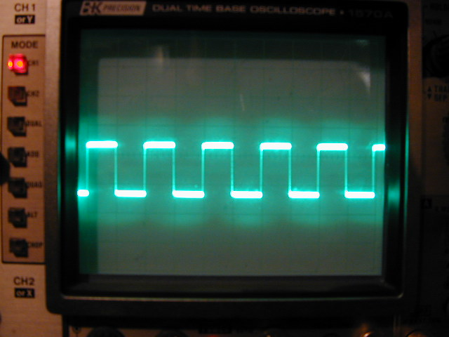 Picture of Variable Frequency Oscillator Using Relay and Capacitor