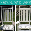 DIY Rocking Chair Makeover with Olympic Stain