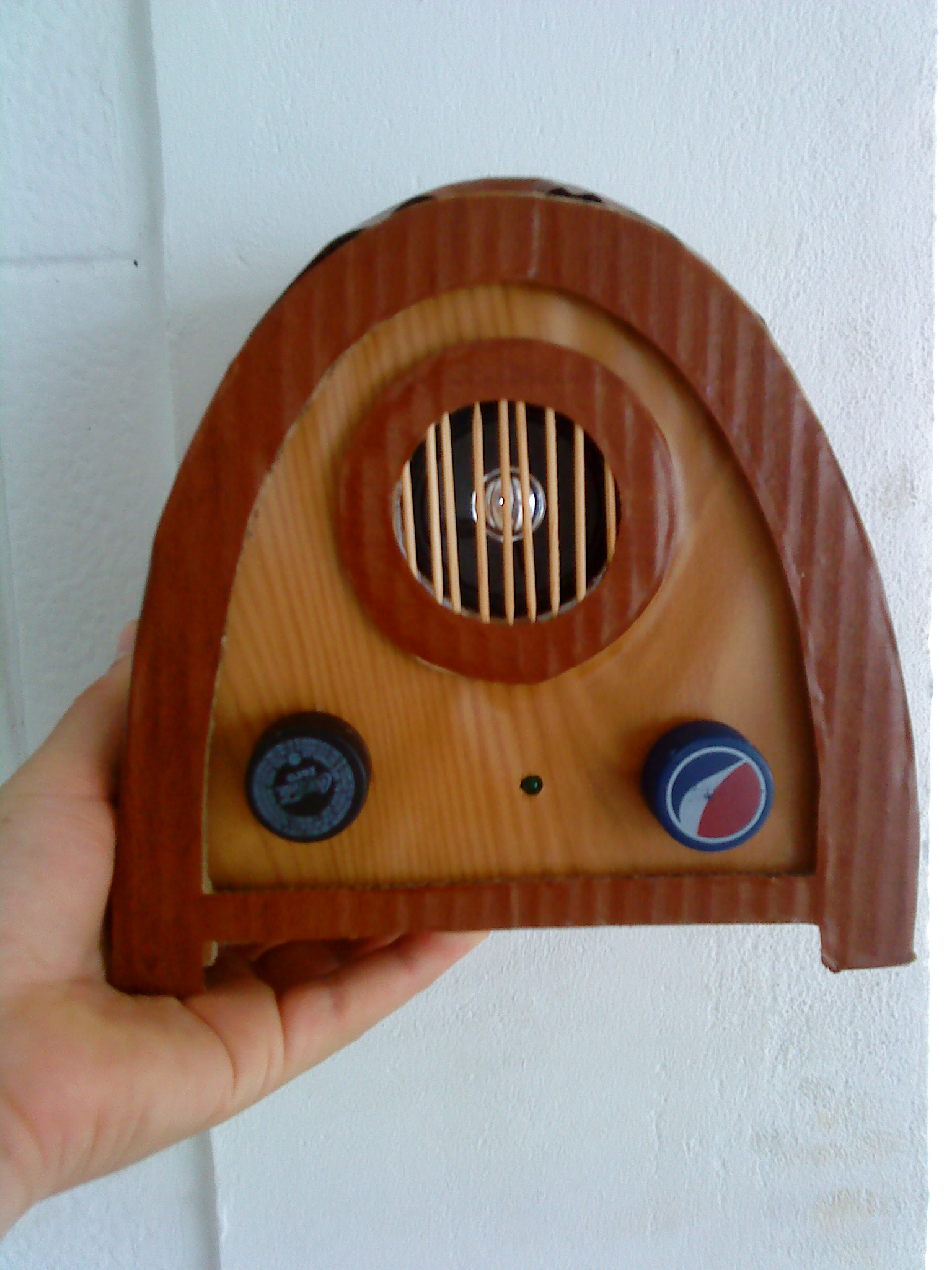 Picture of Recycled Cardboard Radio