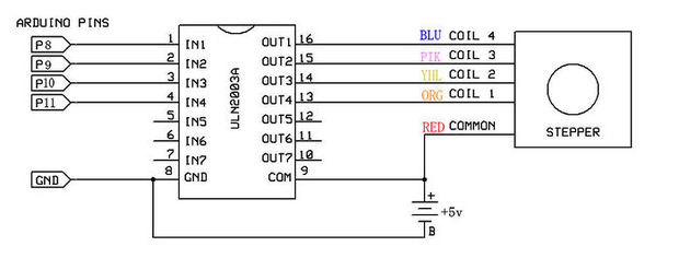 Picture of Electronic Circuit