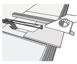 Operating the Tablesaw