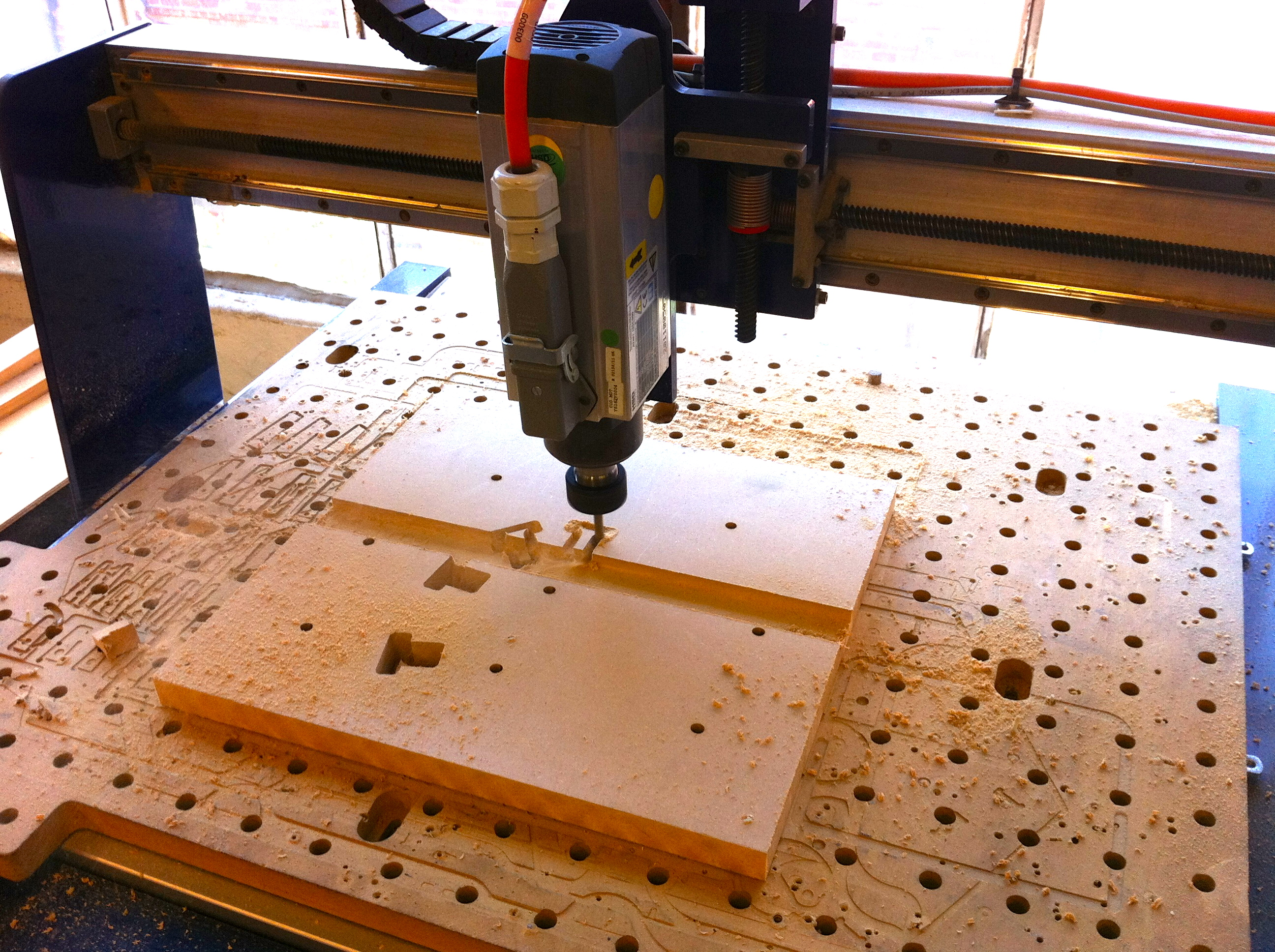 Picture of Generate Files and Cut Parts for Mold