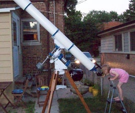 "Homebuilt 6"" F15 Refractor and Mount"