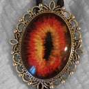 Eye of Sauron Bolo Tie