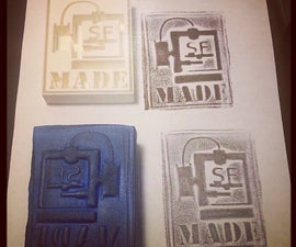 Make Unique Custom Stamps from your 3D Printer & Moldable Foam Stamps!