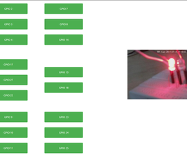 Raspberry Pi Web GPIO With Live Streaming