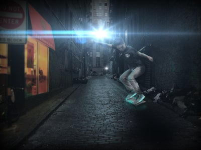 How to Make an Awesome Photo Manipulation (HoverBoarding)