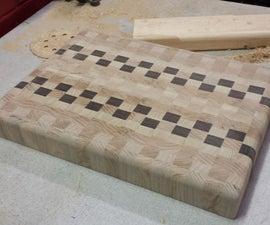 How to make a SUPER SWEET end grain cutting board!