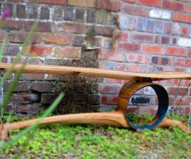 Tension Series - Garden Bench