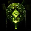 Logo Lit by LED