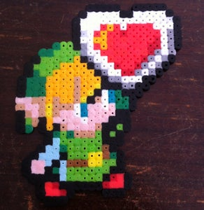 Link With Heart Container