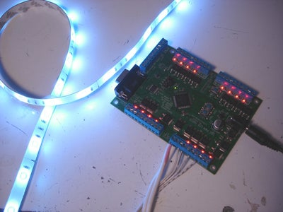 Connect Dioder to 16X PWM LED Fader