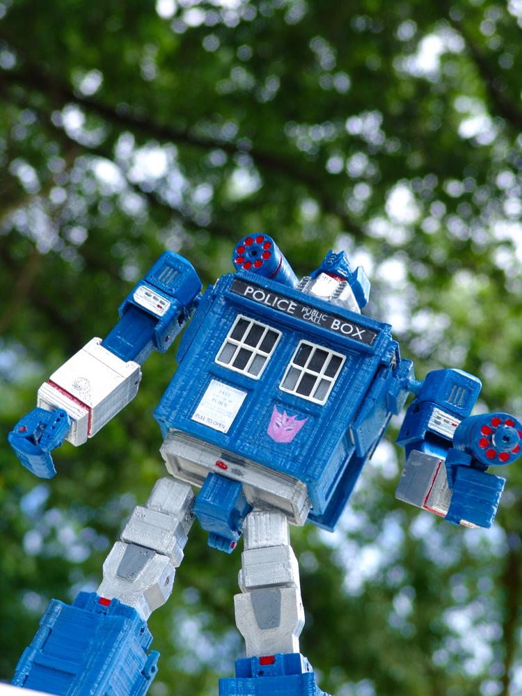 Picture of Tardis Transformer: