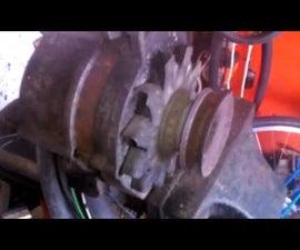 Car Alternator to Cheap Motor