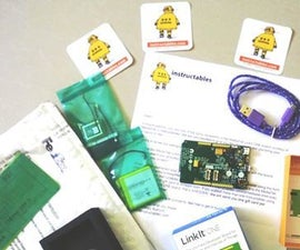 Linkit ONE with LM35 Temperature sensor