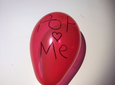 Love Letter in a Balloon