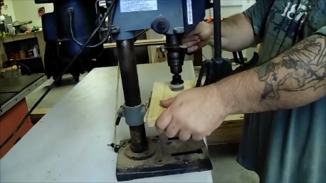 Picture of Drill a Hole for a Door