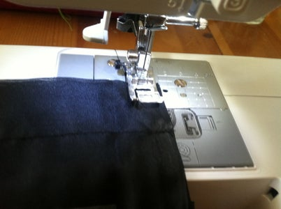 Sewing the Two Panels Together