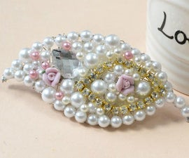 Mother's Day Gifts-How to Make Leaf Pearl Beads Hair Clips for Women