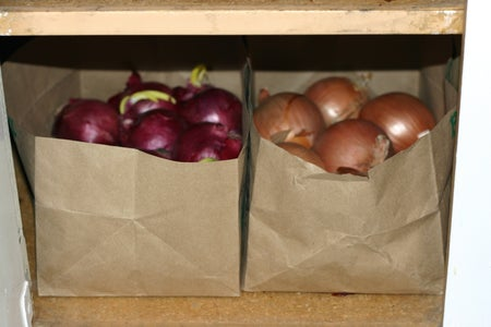 How to Store Onions and Potatoes