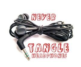 Never tangle earphone life hack